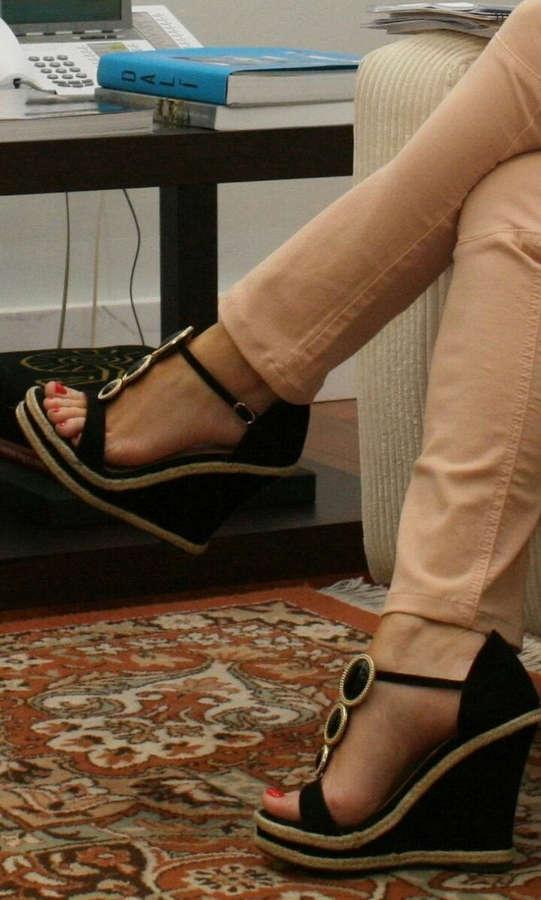 Soraya Saenz De Santamaria Feet