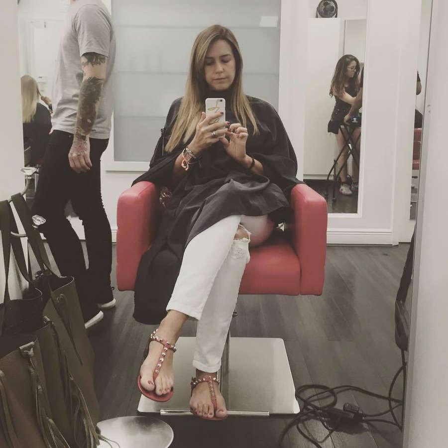 Erika De La Vega Feet