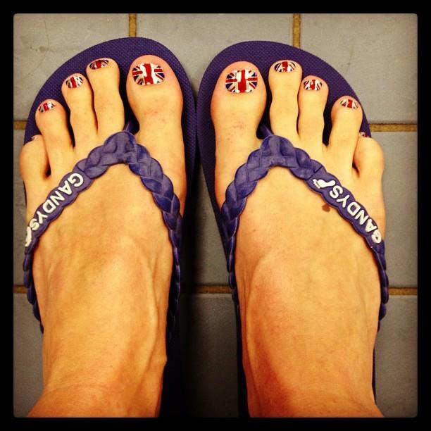 Jazz Carlin Feet