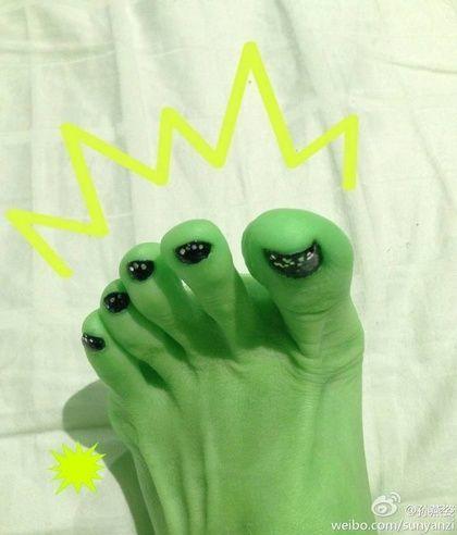 Stefanie Sun Feet