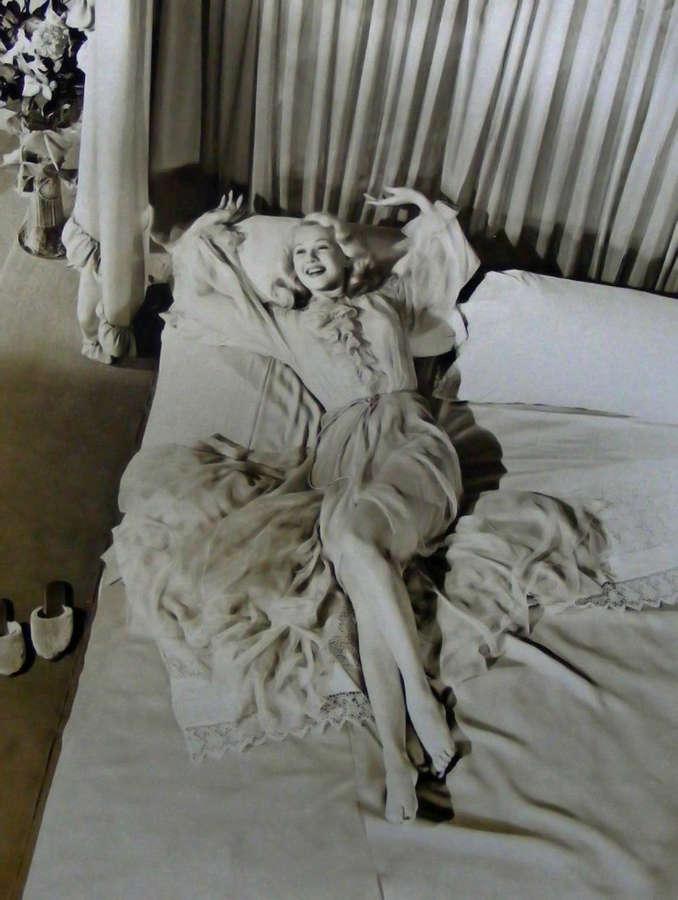 Adele Jergens Feet