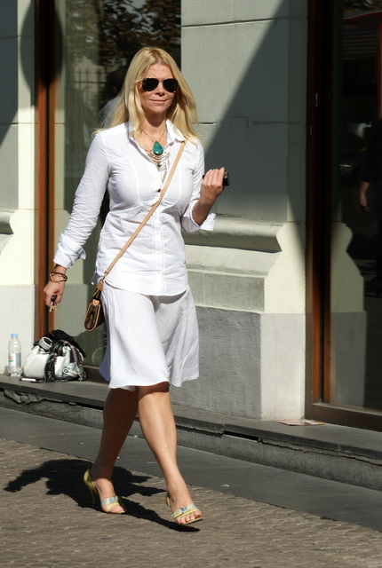 Mila Elegovic Feet