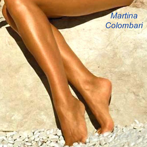 Martina Colombari Feet