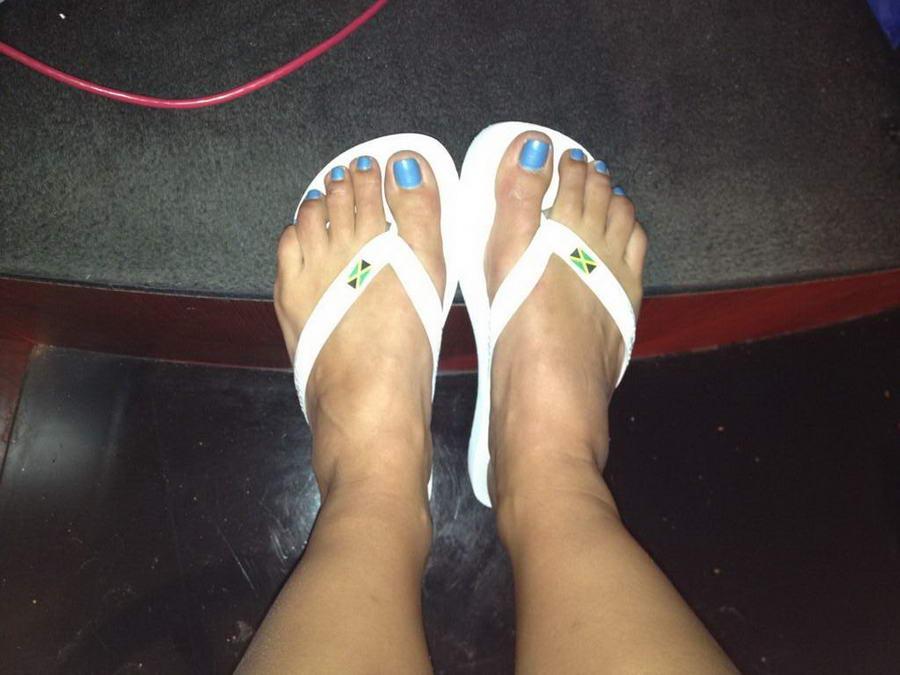 Alison Morris Feet