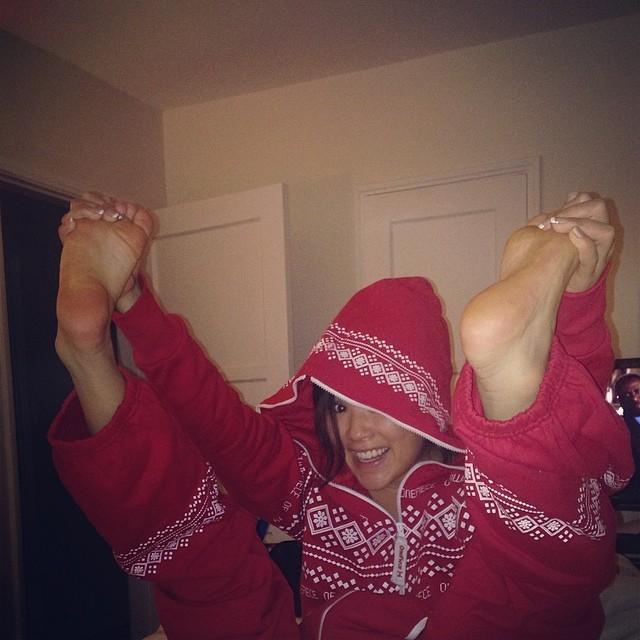 Ally Maki Feet