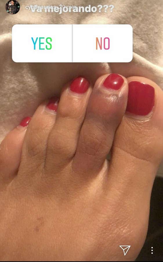 Cynthia Urias Feet