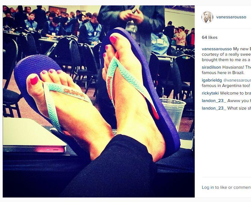 Vanessa Rousso Feet
