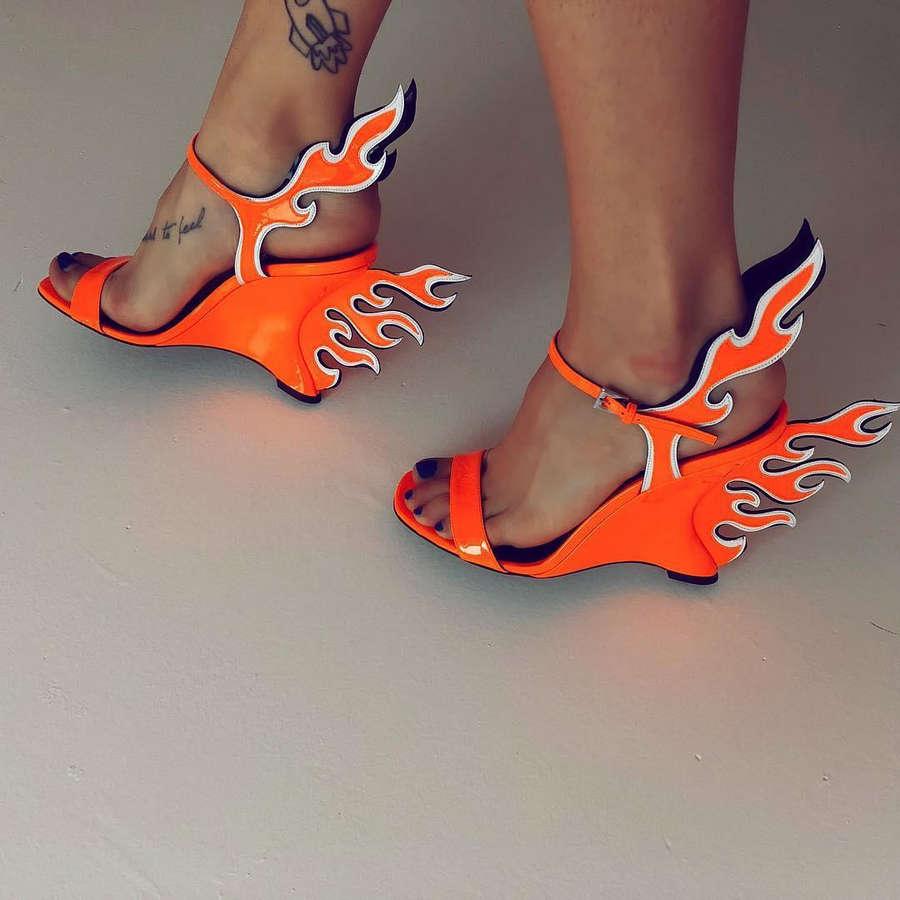 Bria Vinaite Feet