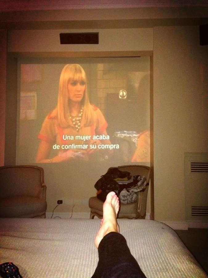 Lorena Wells Feet