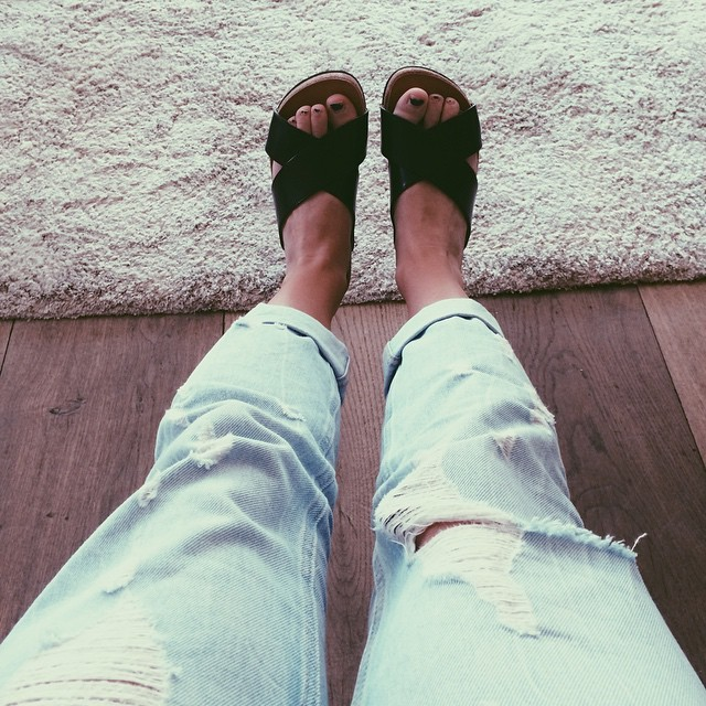 Alice Deeley Feet