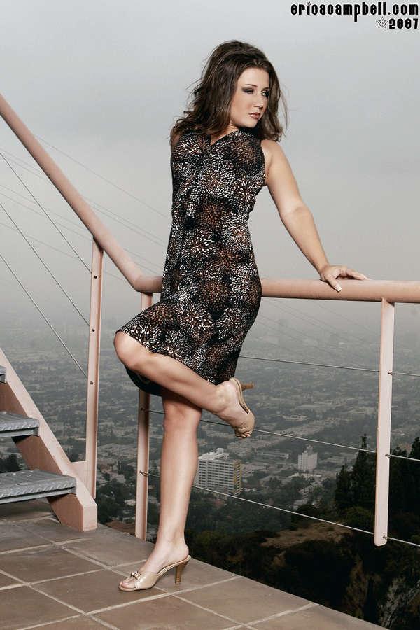 Erica Campbell Feet