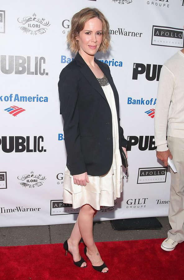Sarah Paulson Feet