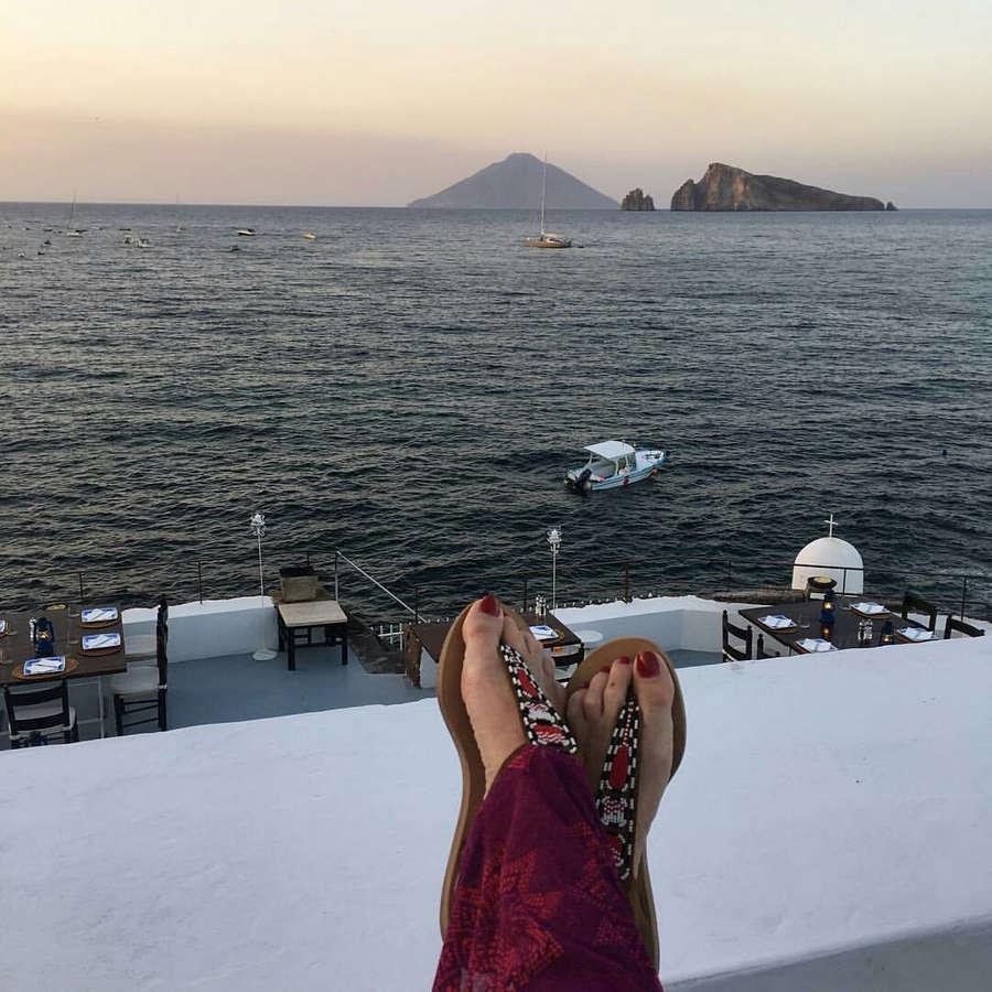Paola Ferrari Feet
