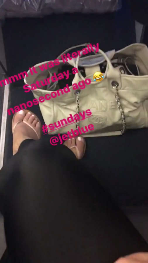 Bianca De La Garza Feet