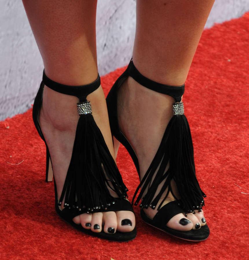 Meghan Trainor Feet