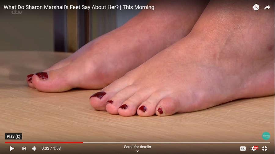 Sharon Marshall Feet