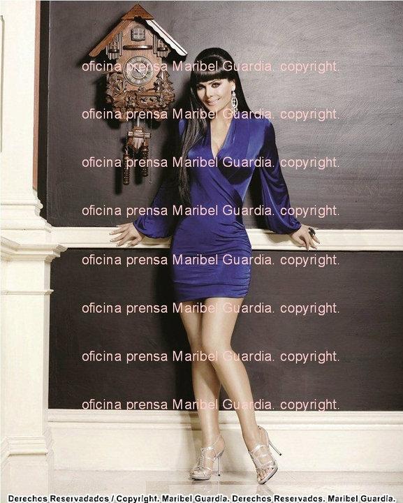 Maribel Guardia Feet