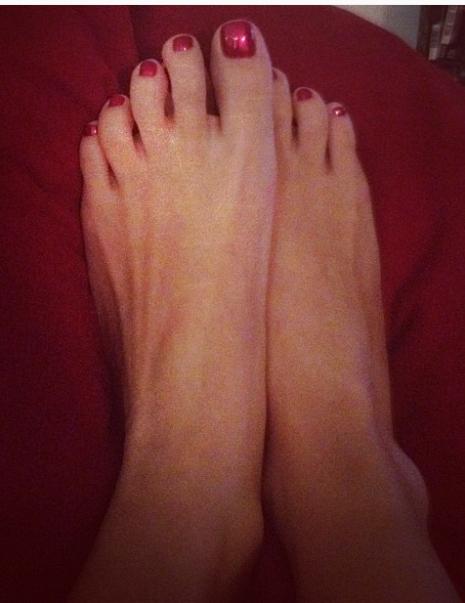 Leah McKendrick Feet
