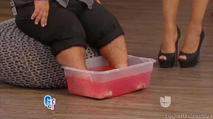 Ximena Cordoba Feet