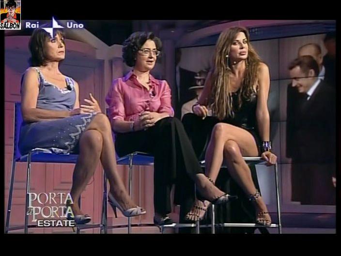 Alba Parietti Feet