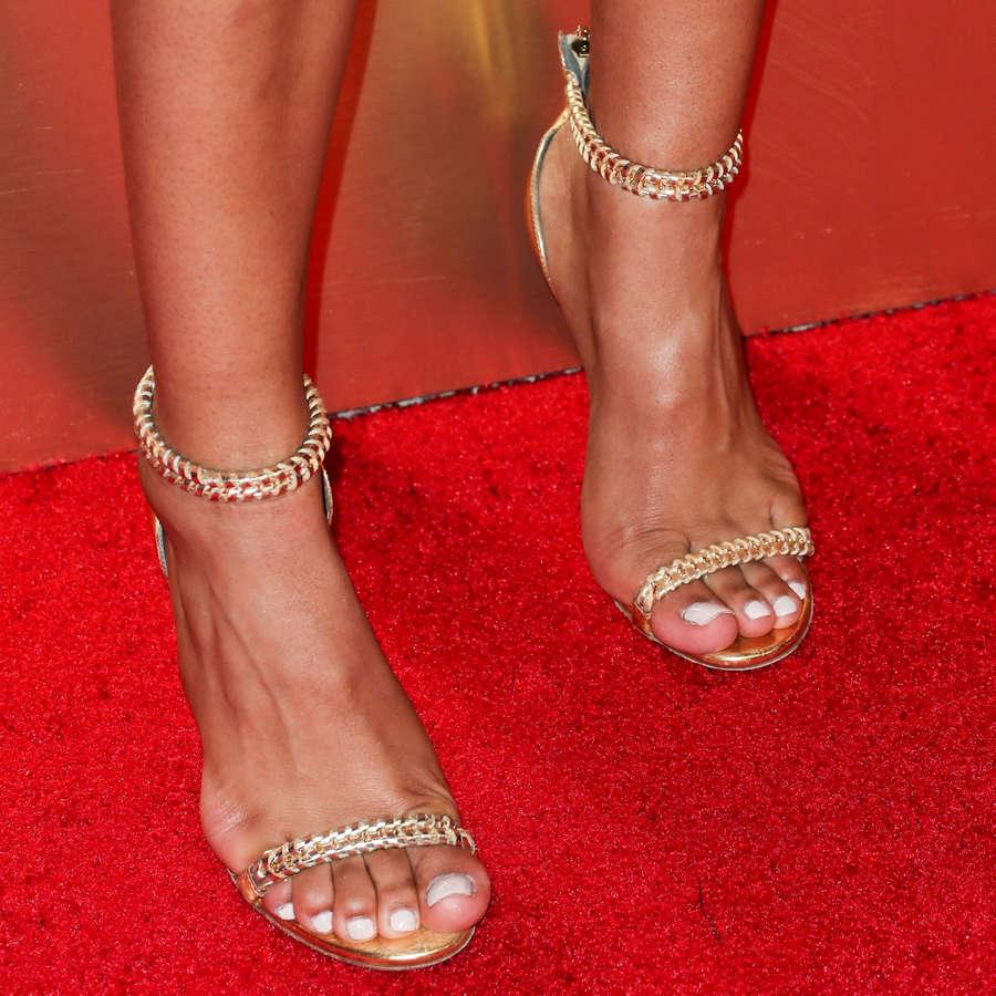 Chanel Iman Feet