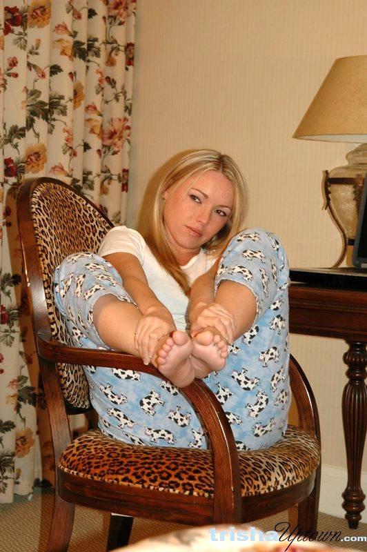 Trisha Upton Feet