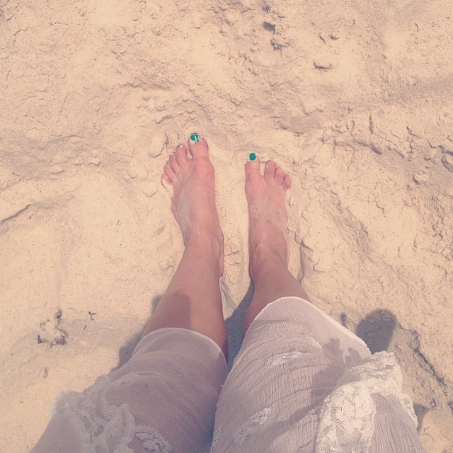 Alina Alekseeva Feet