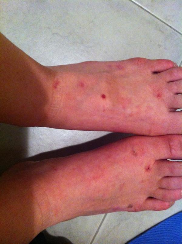 Abril Sanchez Feet