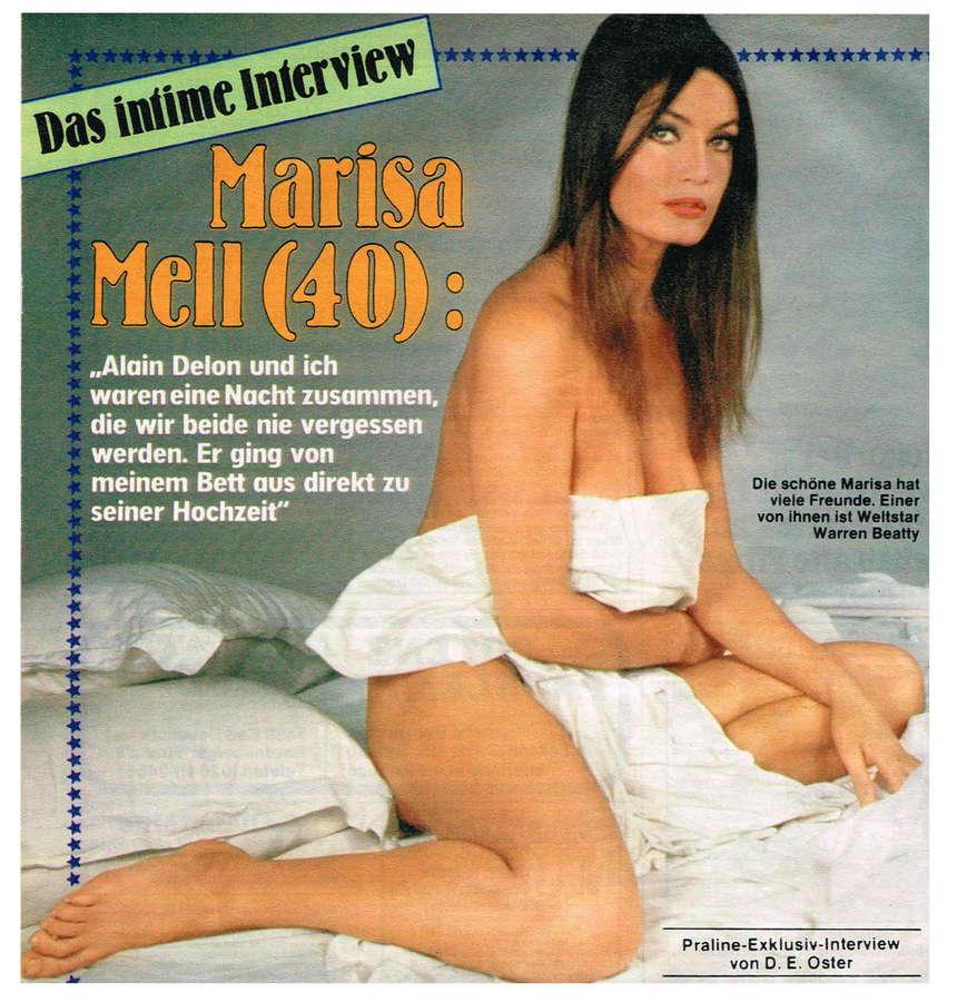 Marisa Mell Feet