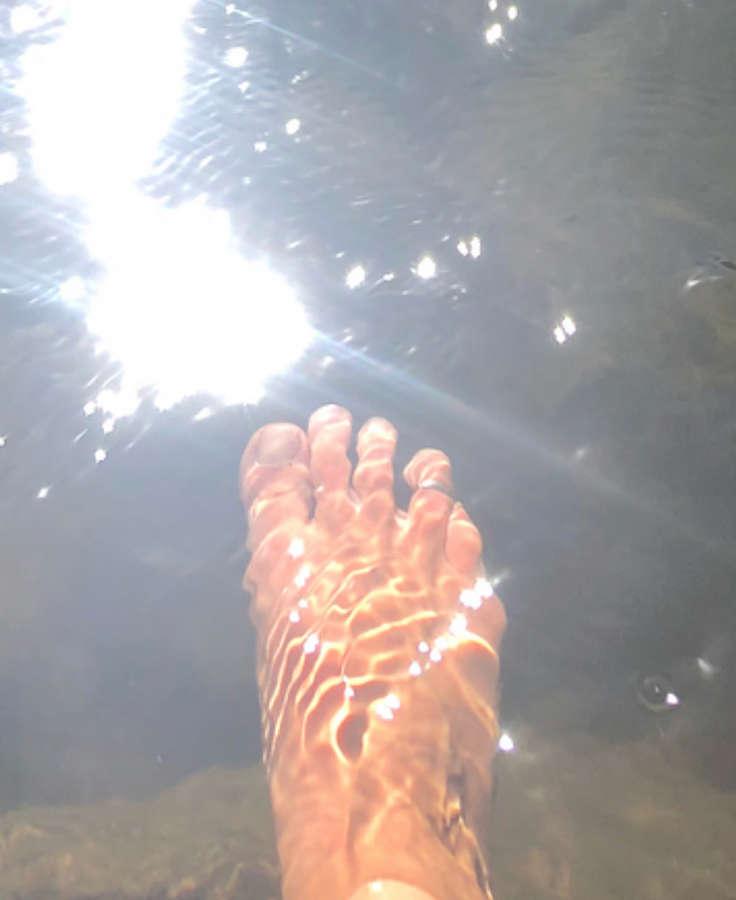 Jessica Mendoza Feet
