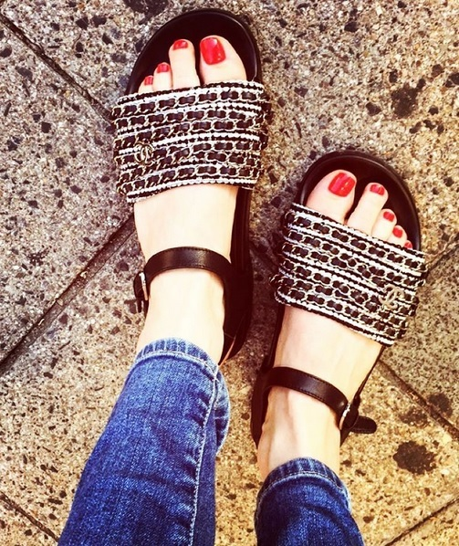 Palina Rojinski Feet