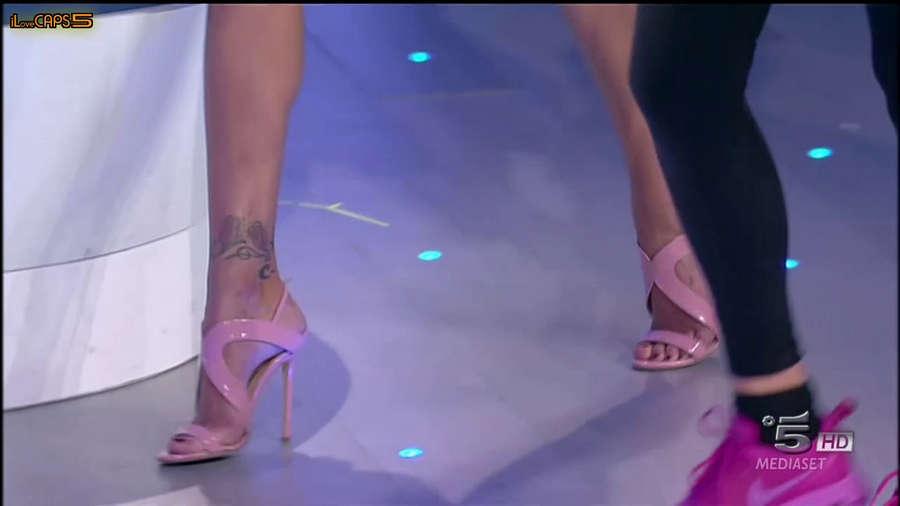 Belen Rodriguez Feet