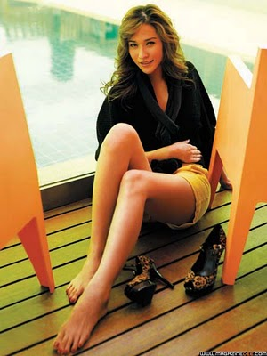 Laila Boonyasak Feet