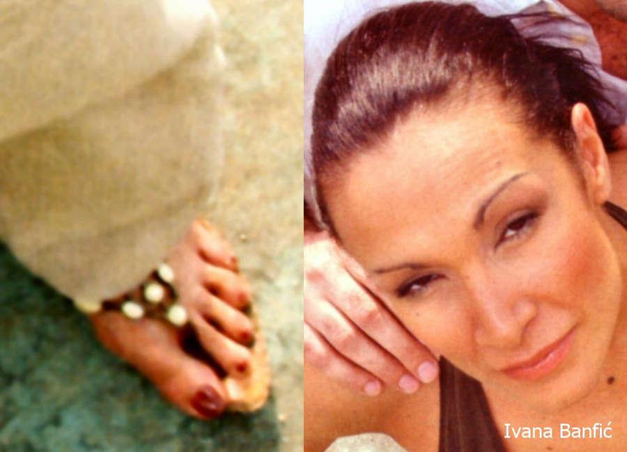 Ivana Banfic Feet