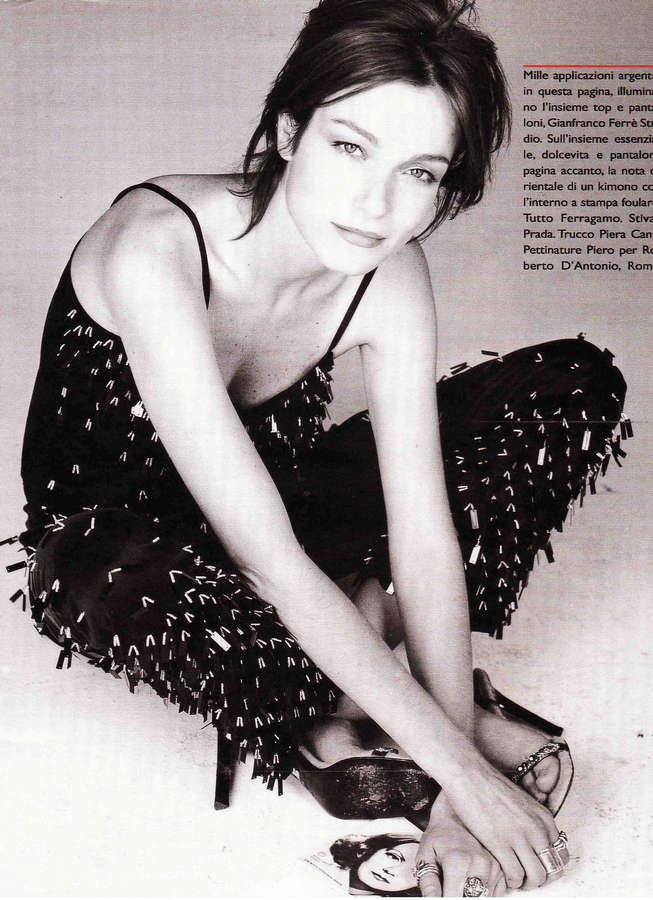 Stefania Rocca Feet