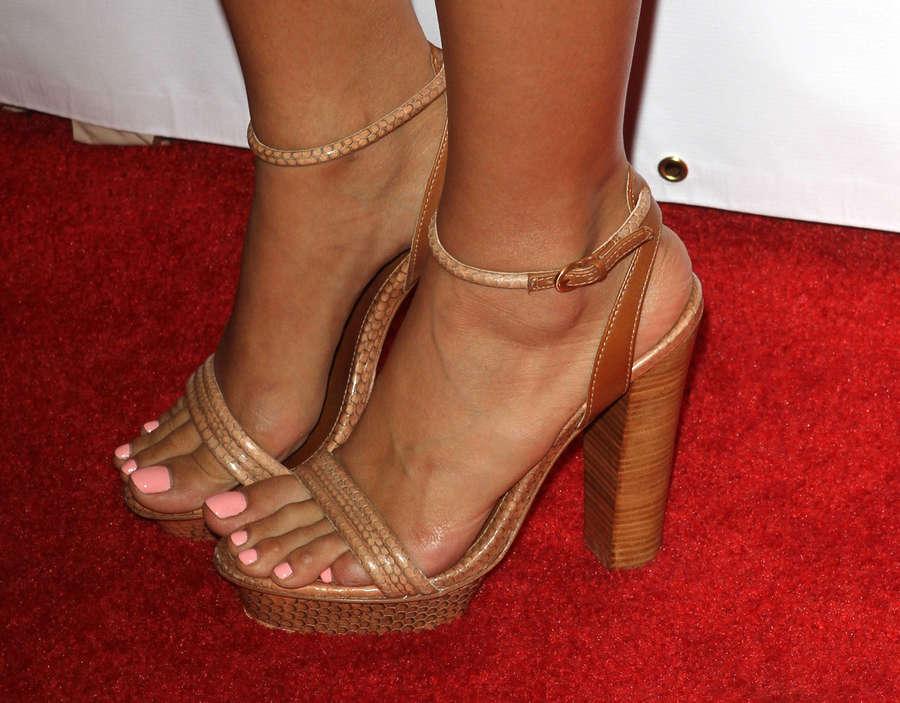 Christian Serratos Feet