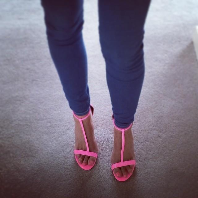 Rosanna Davison Feet