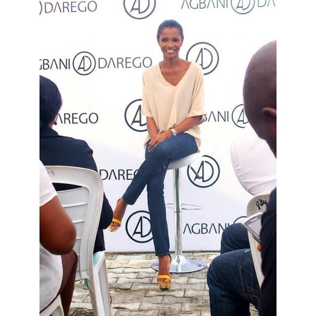 Agbani Darego Feet
