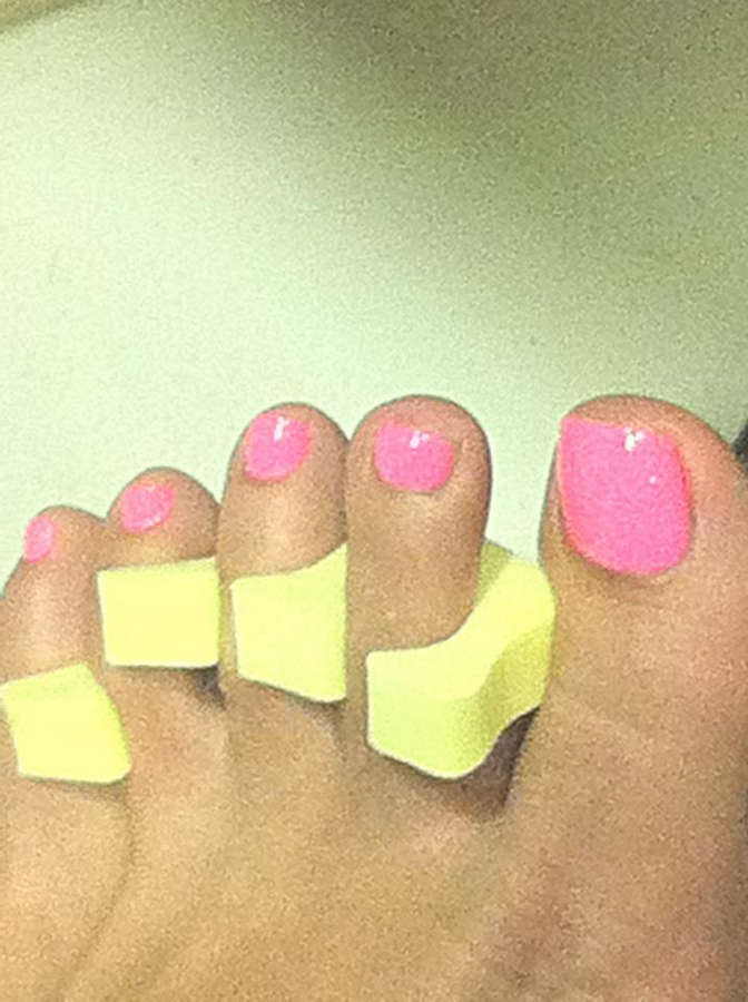 Andrea Fonseka Feet