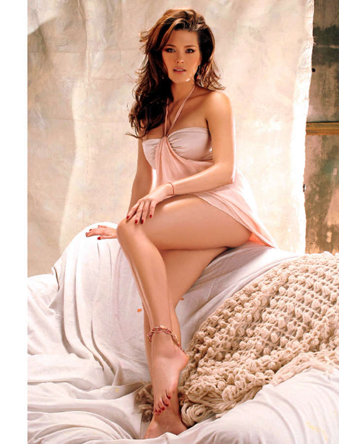 Alicia Machado Feet