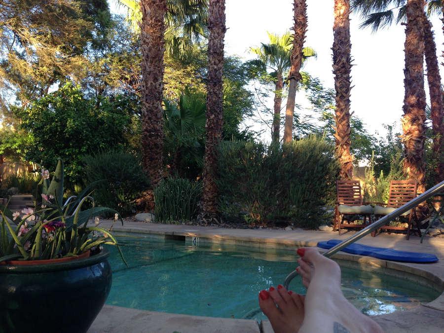 Bonnie Gillespie Feet