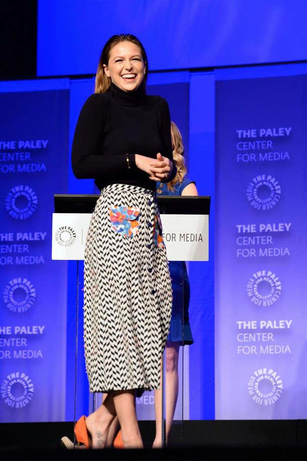 Melissa Benoist Feet