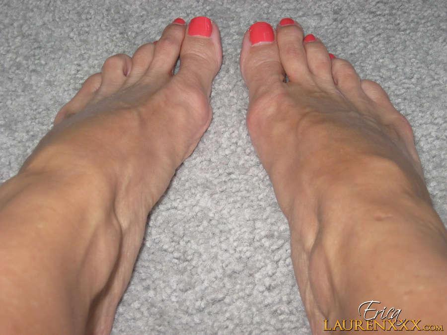 Erica Lauren Feet