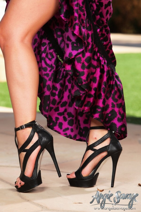 Angie Savage Feet