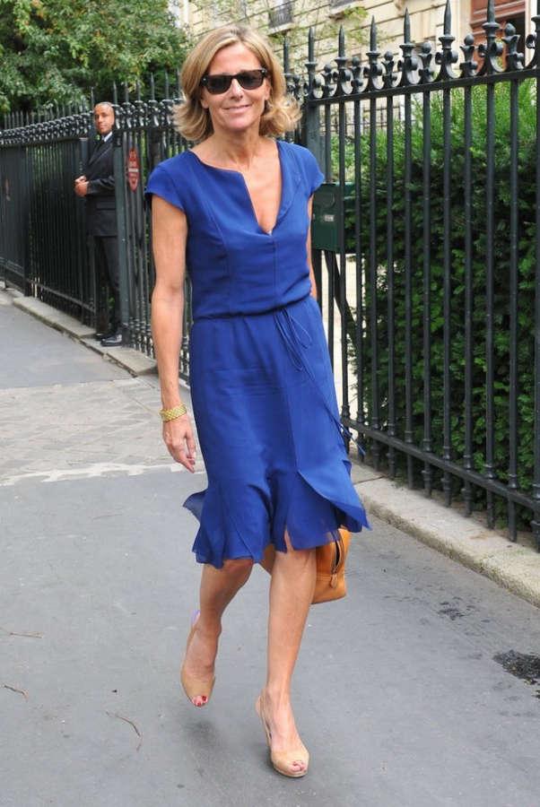 Claire Chazal Feet