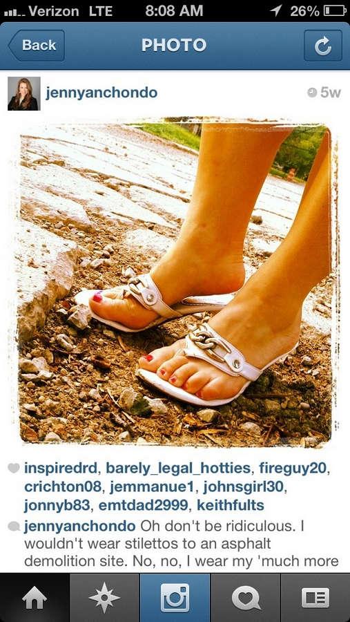 Jenny Anchondo Feet