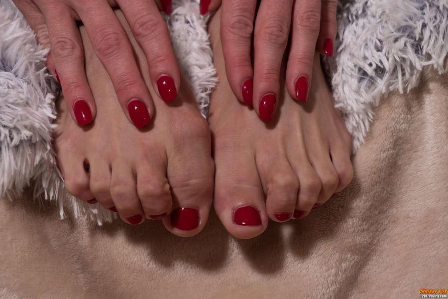 Chrissy Fox Feet