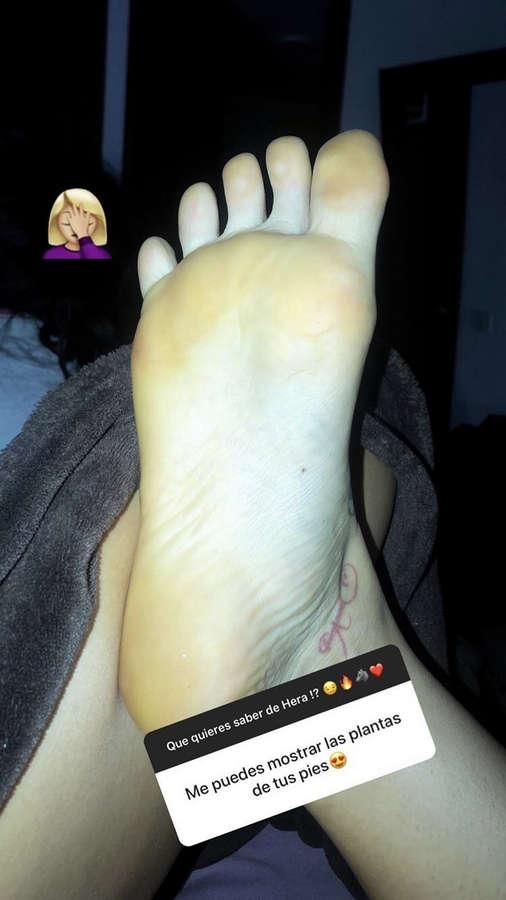 Angelica Hernandez Feet