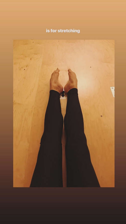 Melia Kreiling Feet