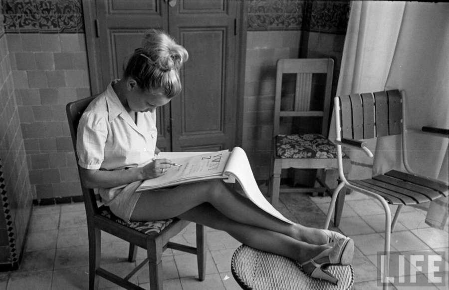 Cecile Aubry Feet